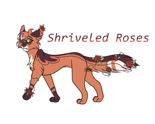 Day 17   Shriveled Roses by ScribbledTale
