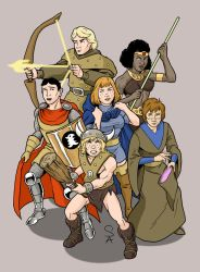 Dungeons and Dragons by xcub