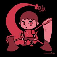 Smash4 Character Countdown #39: Villager by PhiphiAuThon