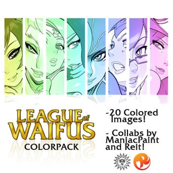 League of Waifus ColorPack by Reit-9