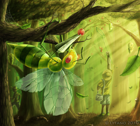 Morning in the Viridian Forest by Deltheor