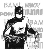 Adam West Batman by SethWolfshorndl