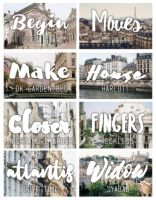 +Font Pack||Wonderland||STOP SHARE by amethxyst
