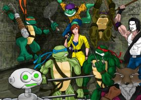 TMNT Heroes :: Coloured :: by dayjohnson