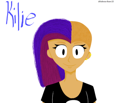 Kilie - MS paint art by turbolovers