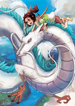 Spirited Away by Enijoi