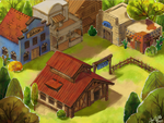 Western Town Concept Art by zarry