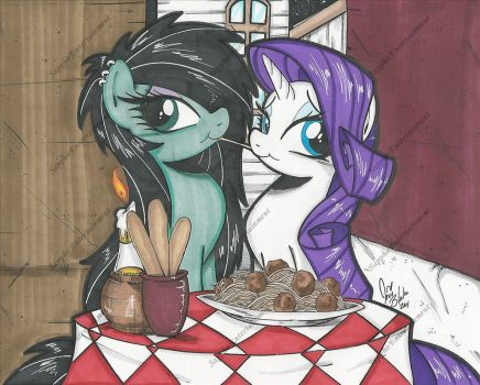 Lady and the Tramp by PonyGoddess