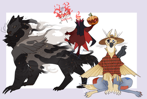 Halloween MantelNordHoodbeast Adopts CLOSED by Spockirkcoy