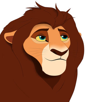 Unknown lion(missing) by gjuhfv
