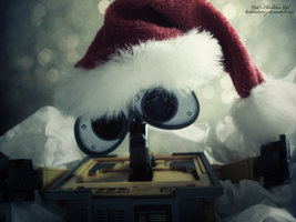 Wall-e Christmas Gift by LT-Arts