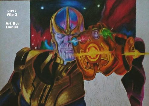 Thanos (Wip 2) by nielopena