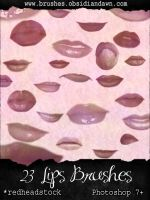 Lips-Mouth Brushes by Project-GimpBC