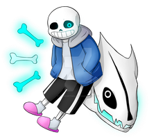 T-shirt design Sans by MyHeartGold