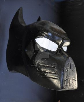 Pre-prototype Batman styled helmet by TK6084