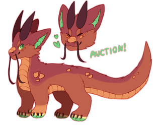little dragon auction (open!) by silv-r