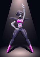 Undertale: Mettaton EX by Assasin-Kiashi