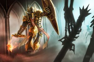 Golden Crusader by PVproject