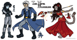 TNB Concepts and Sprites by TariToons