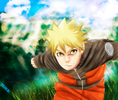 NARUTO RUNNING COLORING by DIABLO123456