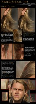 Painting Hair -Part 4: Detail by Sheridan-J