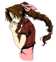 Aerith Gainsborough (done) by MonsterWhacker
