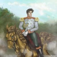War and Peace. Andrei Bolkonsky. by LicamtaPictures