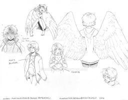 Maximum Ride.Character Design_Angel by MaximWolf