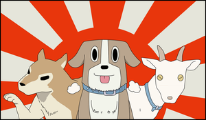 Favorite pet nichijou by Pruz