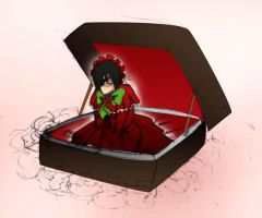 Shota in Suitcase by g4ronk