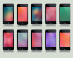 Simple iPhone Wallpapers by Made-By-Thomas