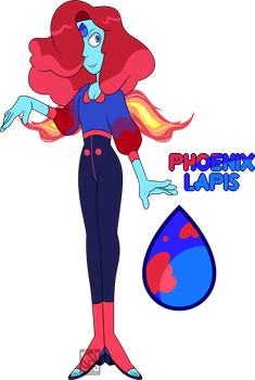 Donated Adopt Resale- Phoenix Lapis (CLOSED) by XombieJunky