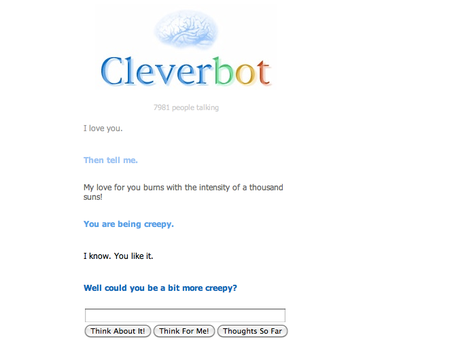 Cleverbot Creepy
