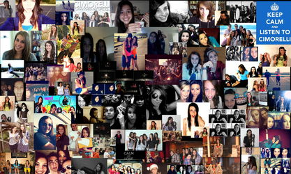 Cimorelli Collage Background by walestm