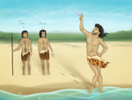 Stephen the Gay Neanderthal by Ayedeas