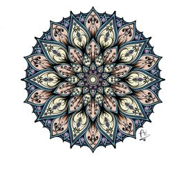 Color Mandala by AfterDeath