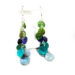 Ocean Hues Mermaid Scale Earrings by WildeGeeks