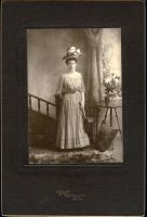 Vintage Lady in Dress by HauntingVisionsStock