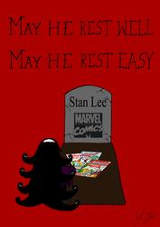 Gigi Mourns - Stan Lee by VicMartinezJr