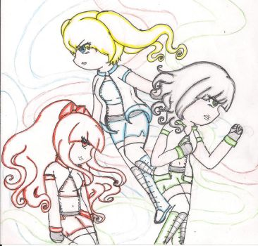 Power Puff Gurlz by jazzy1lol