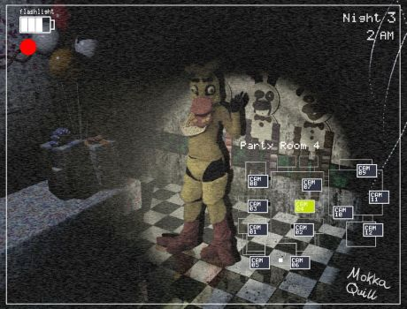 Five Nights at Freddy's-Chica Cosplay by MokkaQuill