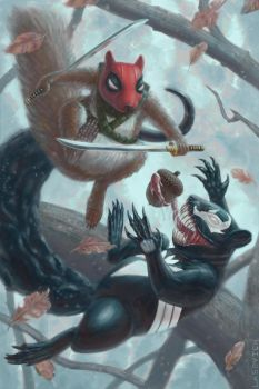 Squirrelpool vs Squenom by mr-sinister2048