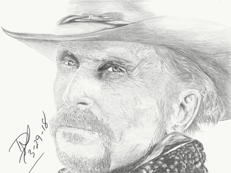 Robert Duvall - Lonesome Dove by systmdamage