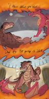 (Book 1-5 spoilers!) Wings of Fire/Asas de Fogo by Proj-FATAL