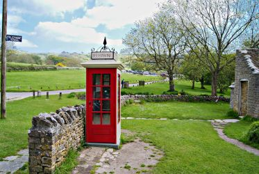 Tyneham Village Iconic Phonebox by wafitz