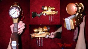 Steampunk weapon by mtani