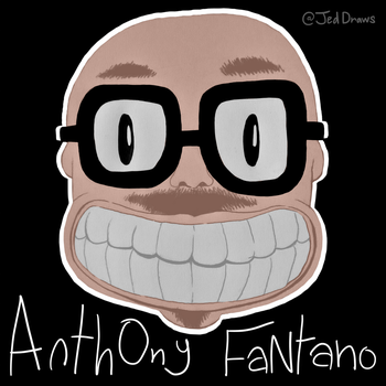 Anthony Fantano Fanart (Version 3) by JedDraws