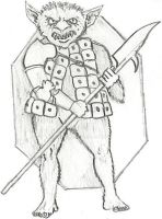 Old School Bugbear by vonmeer