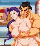 Rose and Honda in bathouse by arion69