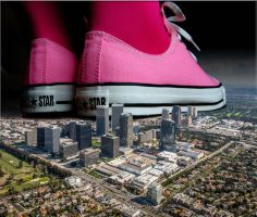 Giantess 2K15 04 - Pink 02 by TbyCoLive